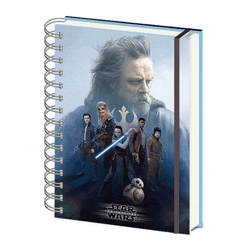 Star Wars The Last Jedi Cast A5 Lenticular Notebook Note Pad